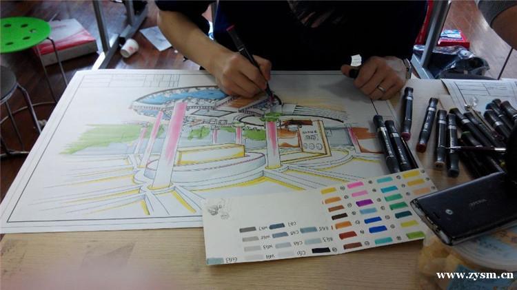 室内设计培训环境图