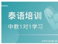 南京秦淮区泰语培训机构