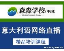 武汉意大利语网络直播培训课程
